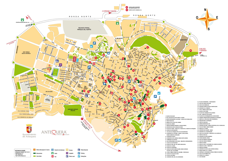 Mapa De Antequera Malaga.Antequera Visita El Caminito Del Rey