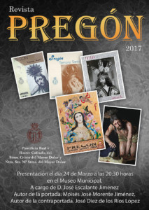 CARTEL REVISTA PREGON 2017