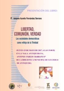 CARTEL PRESENTACION LIBRO ANTONIO AURELIO
