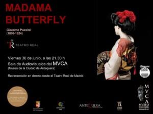 Ópera Madama butterfly en el MVCA