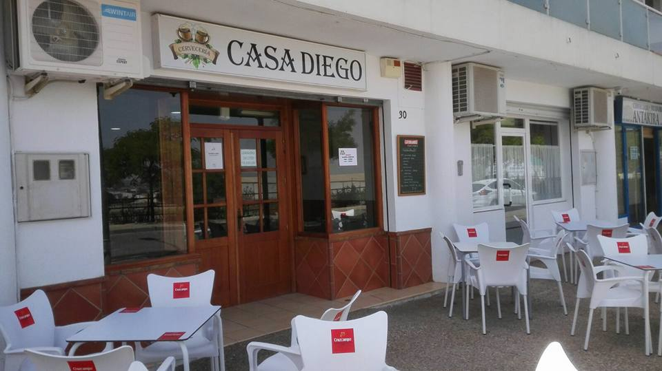 Fotografía fachada cerveceria Casa Diego La Quinta