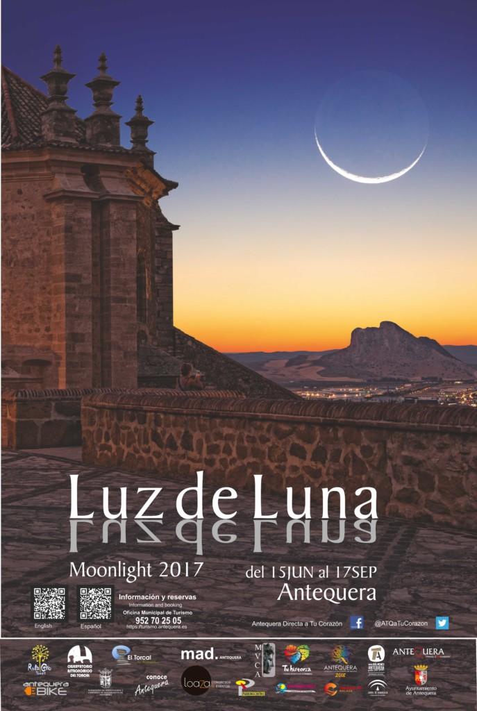 cartel LUZ DE LUNA_ 2017